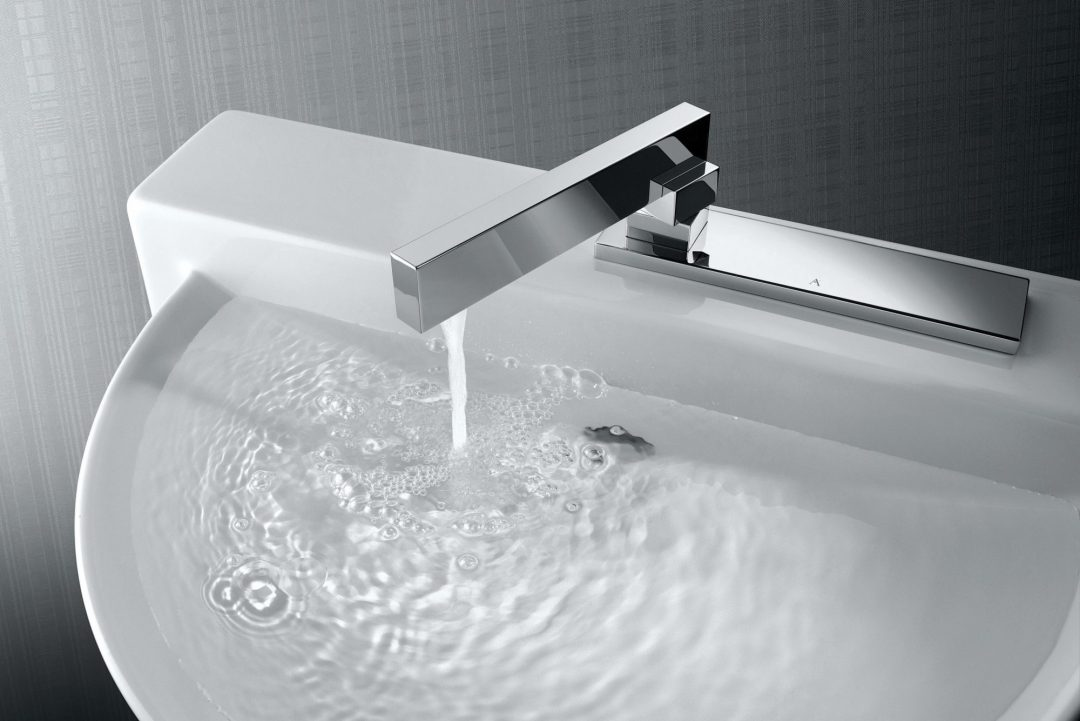 Linea basin mixer by Artize
