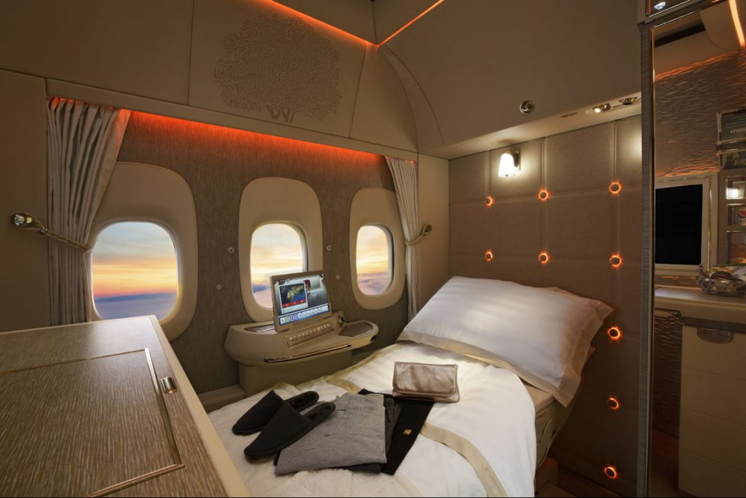 Emirates's First Class Private Suite