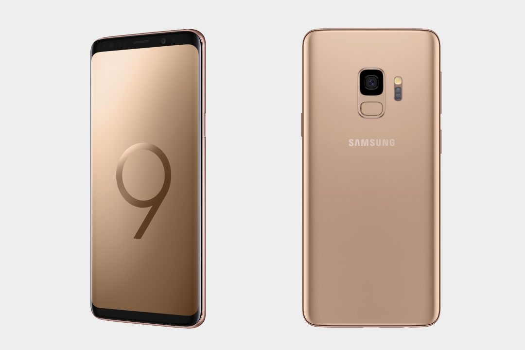 Samsung Galaxy S9/S9+ Gold