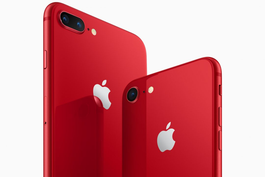 Apple iPhone 8 and iPhone 8 Plus Red Edition