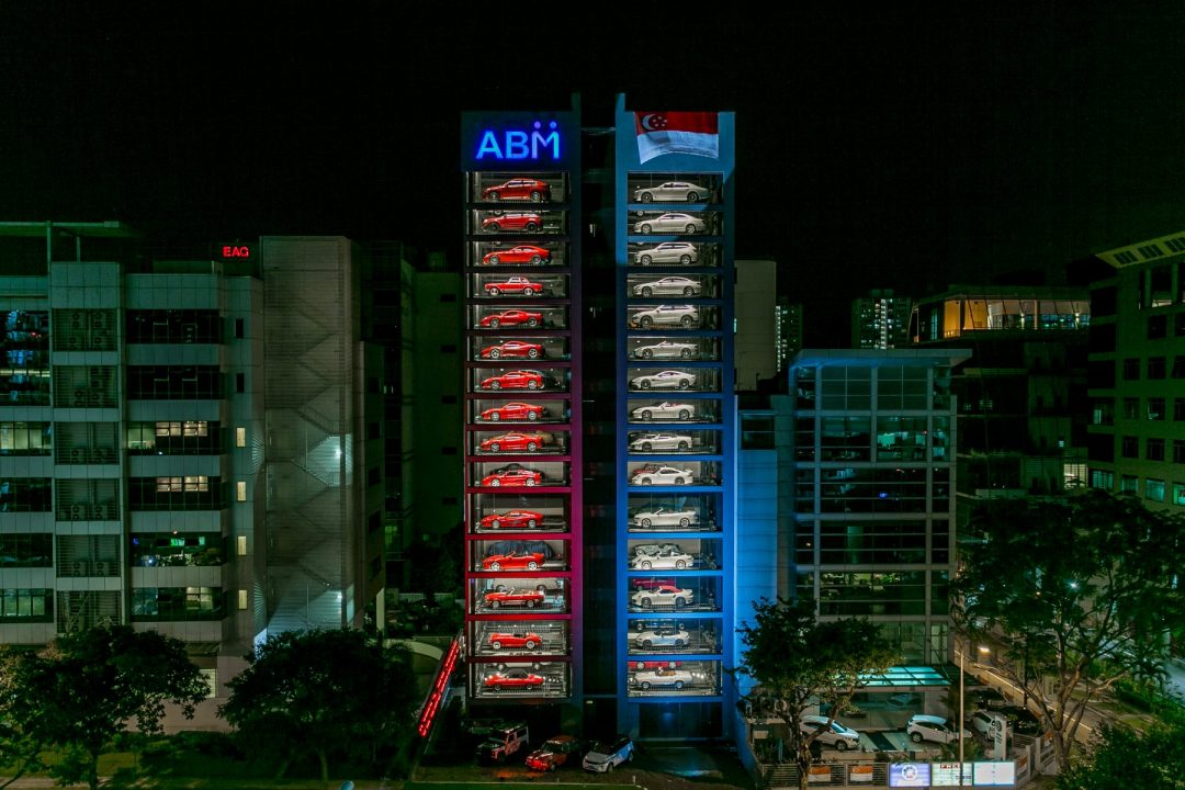 Autobahn Motors' Tower is an Iconic Landmark in Singapore