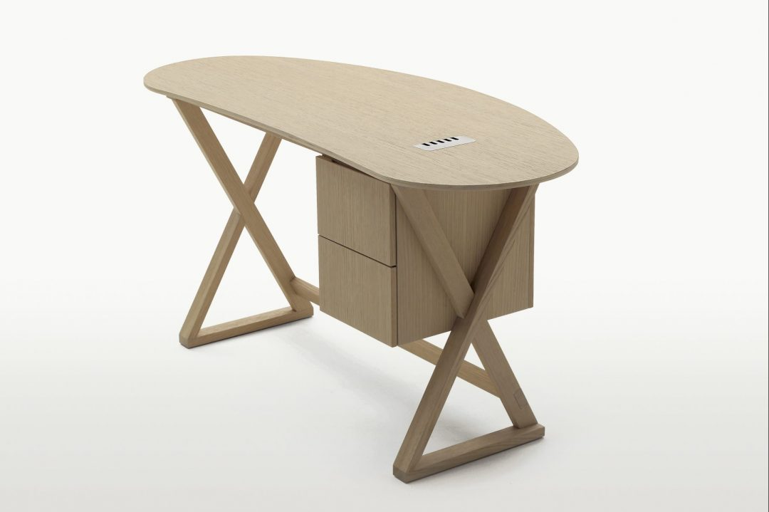 Sidus Writing Desk Maxalto by B&B Italia