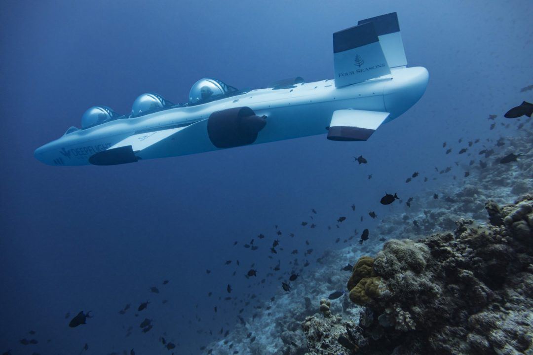 Luxury Underwater Flight Excursions Maldives