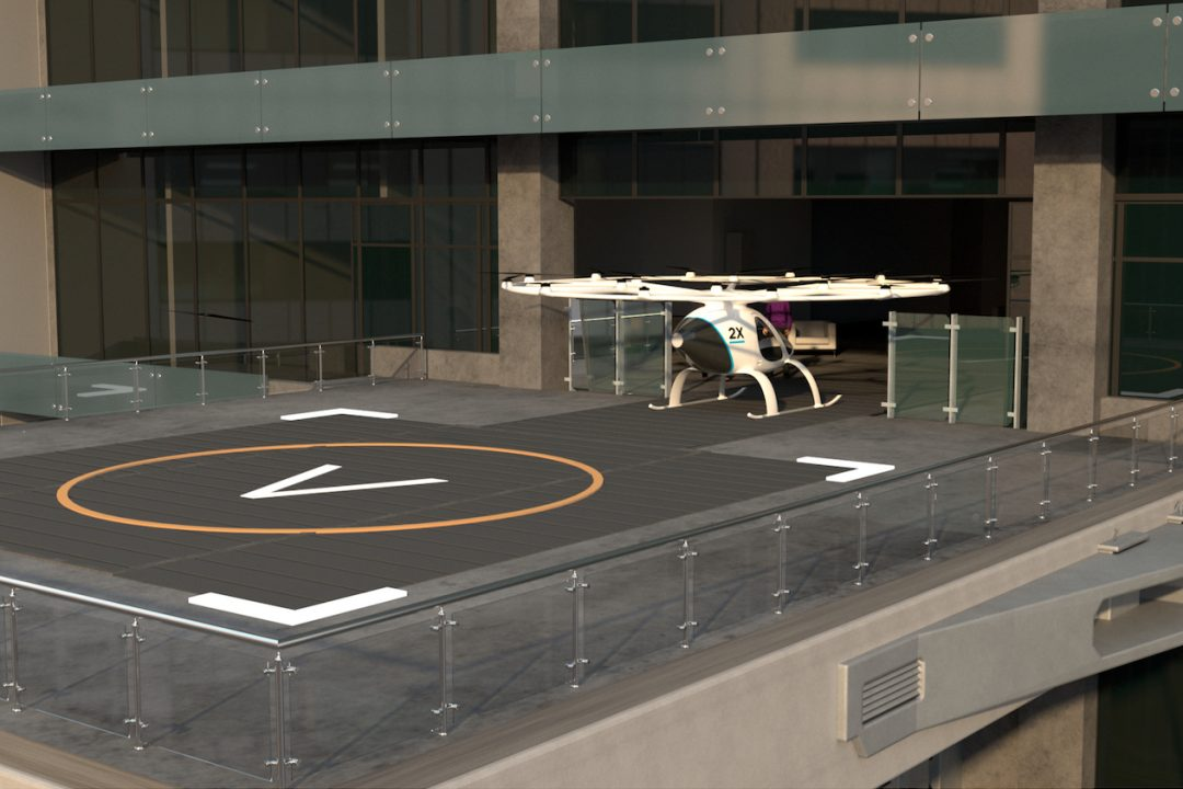 Volocopter to Test its Air Taxis in Singapore in 2019