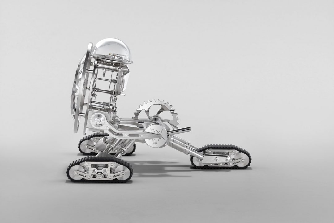 Grant is a robot clock by MB&F and L'Epée 1839
