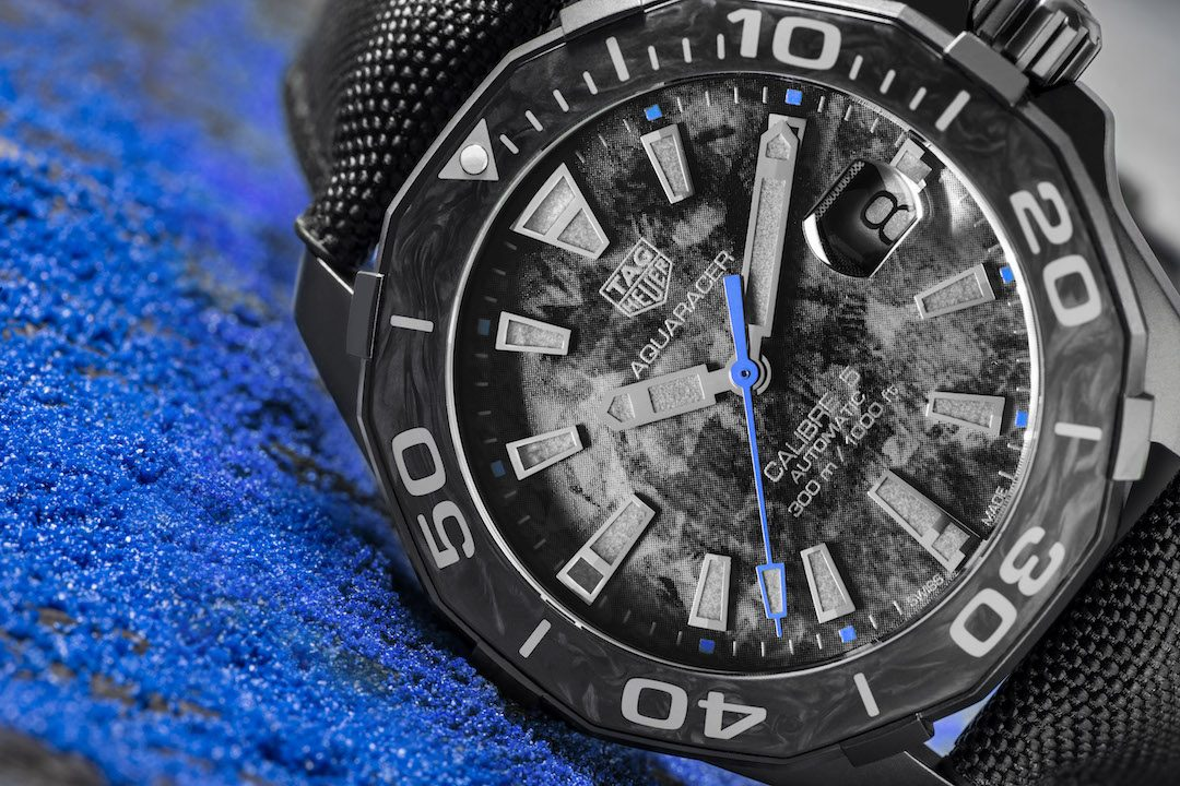 TAG Heuer's Carbon Aquaracer is light, Durable and Sporty