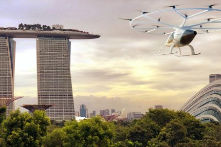 Volocopter Air Taxis Singapore