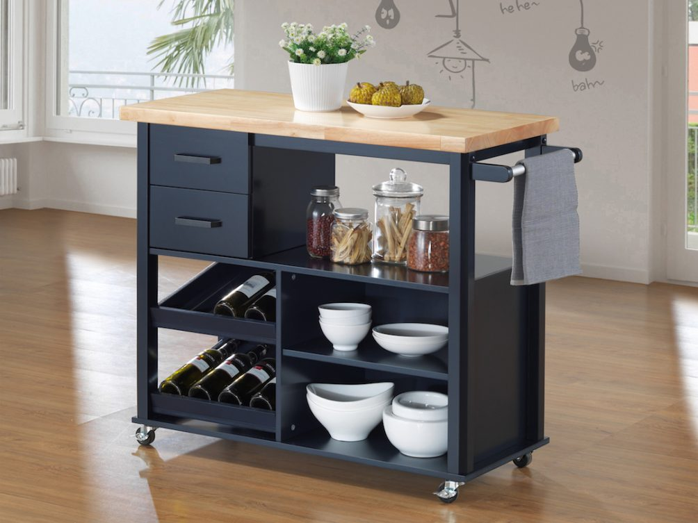 Boots Kitchen Trolley by Star Living