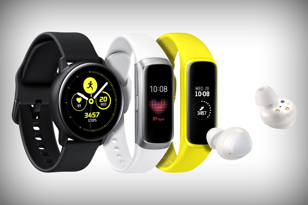 Samsung Launches Three New Wearables for Wellness Seekers