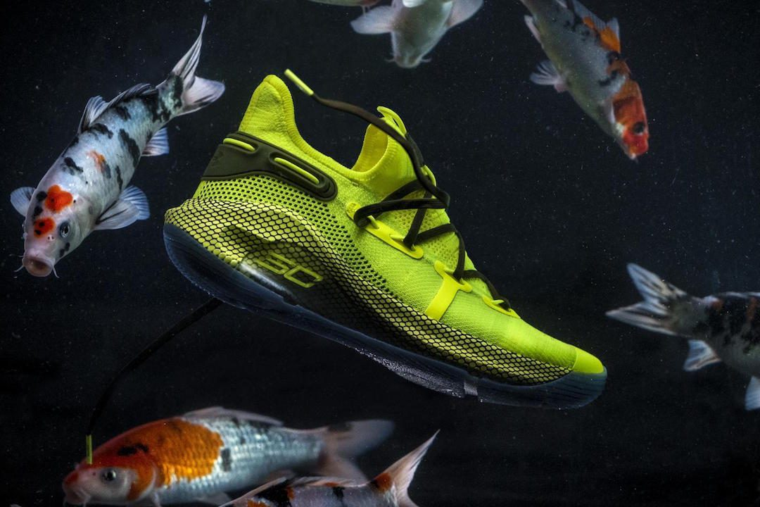Under Armour Introduces Curry 6 Coy Fish Colorway