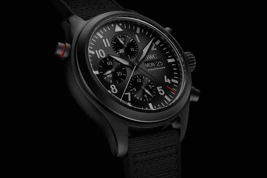 IWC lines Up Its Pilot's Watch Top Gun Collection