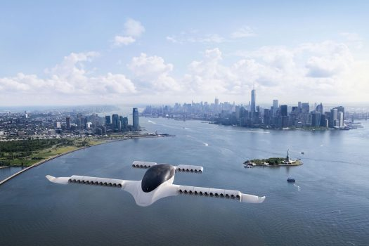 Lilium five-seater air taxi