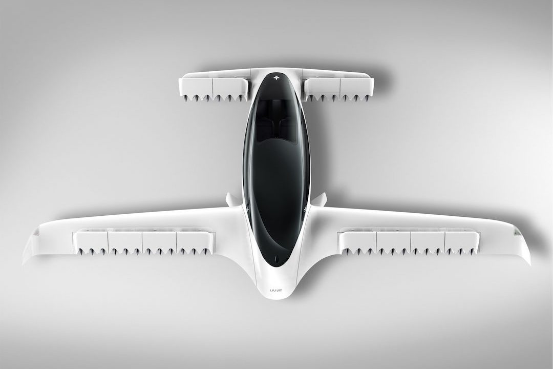 Lilium unveiled its new five-seater air taxi